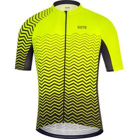 GORE WEAR C3 Kortärmad cykeltröja Herr gul/svart